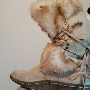 Wanted furry boots